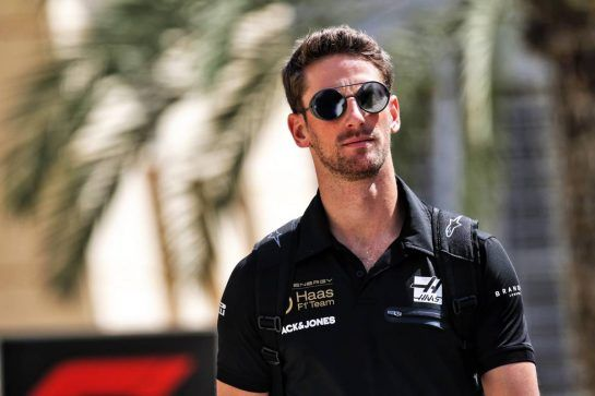 Romain Grosjean (FRA) Haas F1 Team. 28.03.2019. Formula 1 World Championship, Rd 2, Bahrain Grand Prix, Sakhir, Bahrain, Preparation Day.  - www.xpbimages.com, EMail: requests@xpbimages.com - copy of publication required for printed pictures. Every used picture is fee-liable. © Copyright: Bearne / XPB Images