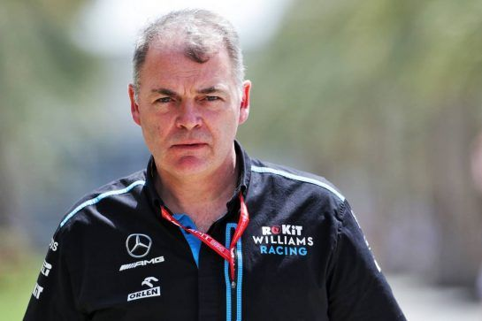 Dave Redding (GBR) Williams Racing Team Manager. 28.03.2019. Formula 1 World Championship, Rd 2, Bahrain Grand Prix, Sakhir, Bahrain, Preparation Day.  - www.xpbimages.com, EMail: requests@xpbimages.com - copy of publication required for printed pictures. Every used picture is fee-liable. © Copyright: Bearne / XPB Images
