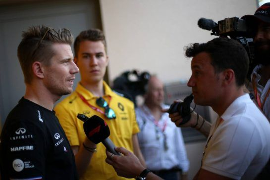 Nico Hulkenberg (GER), Renault Sport F1 Team  28.03.2019. Formula 1 World Championship, Rd 2, Bahrain Grand Prix, Sakhir, Bahrain, Preparation Day. - www.xpbimages.com, EMail: requests@xpbimages.com - copy of publication required for printed pictures. Every used picture is fee-liable. © Copyright: Charniaux / XPB Images