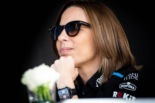 Claire Williams (GBR) Williams Racing Deputy Team Principal. 28.03.2019. Formula 1 World Championship, Rd 2, Bahrain Grand Prix, Sakhir, Bahrain, Preparation Day.  - www.xpbimages.com, EMail: requests@xpbimages.com - copy of publication required for printed pictures. Every used picture is fee-liable. © Copyright: Bearne / XPB Images