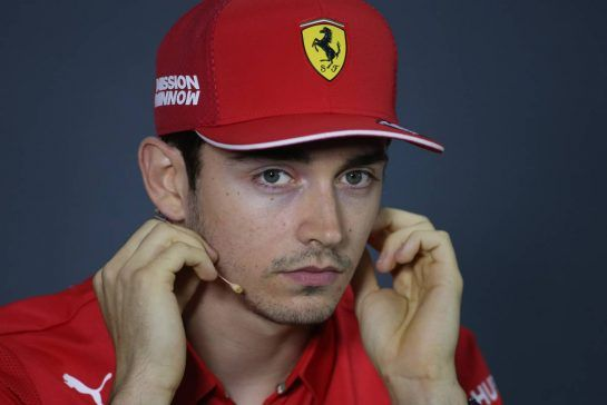 Charles Leclerc (FRA), Scuderia Ferrari 28.03.2019. Formula 1 World Championship, Rd 2, Bahrain Grand Prix, Sakhir, Bahrain, Preparation Day.- www.xpbimages.com, EMail: requests@xpbimages.com - copy of publication required for printed pictures. Every used picture is fee-liable. © Copyright: Charniaux / XPB Images