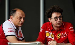 Alfa boss Vasseur hints at future Ferrari role