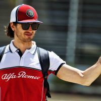 Antonio Giovinazzi Alfa Romeo Racing F1 Team