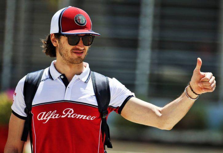 Antonio Giovinazzi Alfa Romeo Racing F1 Team