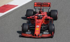 Leclerc and Vettel put Ferrari back in charge in FP1 in Bahrain