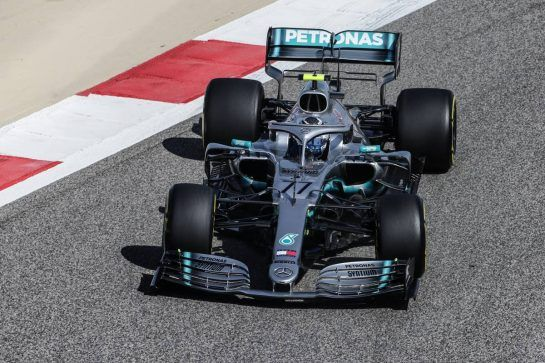 Valtteri Bottas (FIN) Mercedes AMG F1 W10. 29.03.2019. Formula 1 World Championship, Rd 2, Bahrain Grand Prix, Sakhir, Bahrain, Practice Day  - www.xpbimages.com, EMail: requests@xpbimages.com - copy of publication required for printed pictures. Every used picture is fee-liable. © Copyright: Bearne / XPB Images
