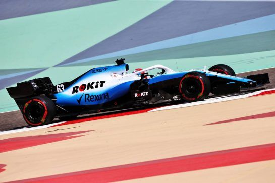 George Russell (GBR) Williams Racing FW42. 29.03.2019. Formula 1 World Championship, Rd 2, Bahrain Grand Prix, Sakhir, Bahrain, Practice Day - www.xpbimages.com, EMail: requests@xpbimages.com - copy of publication required for printed pictures. Every used picture is fee-liable. © Copyright: Moy / XPB Images