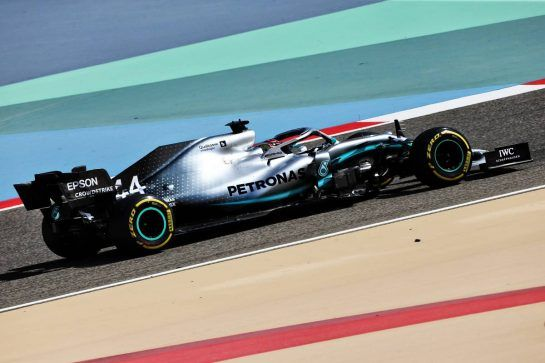 Lewis Hamilton (GBR) Mercedes AMG F1 W10. 29.03.2019. Formula 1 World Championship, Rd 2, Bahrain Grand Prix, Sakhir, Bahrain, Practice Day - www.xpbimages.com, EMail: requests@xpbimages.com - copy of publication required for printed pictures. Every used picture is fee-liable. © Copyright: Moy / XPB Images