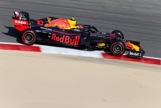 Pierre Gasly (FRA), Red Bull Racing 29.03.2019. Formula 1 World Championship, Rd 2, Bahrain Grand Prix, Sakhir, Bahrain, Practice Day- www.xpbimages.com, EMail: requests@xpbimages.com - copy of publication required for printed pictures. Every used picture is fee-liable. © Copyright: Charniaux / XPB Images