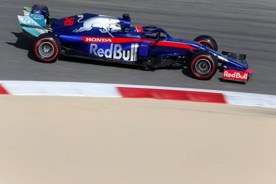 Daniil Kvyat (RUS), Scuderia Toro Rosso 29.03.2019. Formula 1 World Championship, Rd 2, Bahrain Grand Prix, Sakhir, Bahrain, Practice Day- www.xpbimages.com, EMail: requests@xpbimages.com - copy of publication required for printed pictures. Every used picture is fee-liable. © Copyright: Charniaux / XPB Images