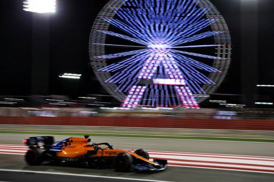 Carlos Sainz Jr (ESP) McLaren MCL34. 29.03.2019. Formula 1 World Championship, Rd 2, Bahrain Grand Prix, Sakhir, Bahrain, Practice Day - www.xpbimages.com, EMail: requests@xpbimages.com - copy of publication required for printed pictures. Every used picture is fee-liable. © Copyright: Batchelor / XPB Images