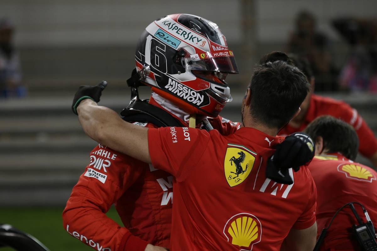 Charles Leclerc (MON) Ferrari.