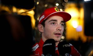 Pole man Leclerc 'very happy to be ahead' of Vettel!