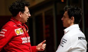 Wolff saw 'different' Ferrari data in Austin  - Binotto explains why