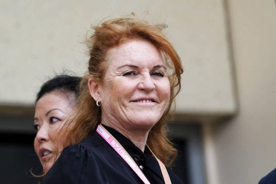 Sarah Ferguson (GBR) Duchess of York.