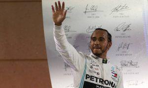 Hamilton picks up Bahrain win after heartbreak for Leclerc