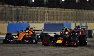 Brown not expecting McLaren to dice regularly with Red Bull