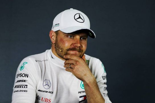 Second placed Valtteri Bottas (FIN) Mercedes AMG F1 in the post race FIA Press Conference.