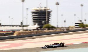 Who drives when at this week's in-season test in Bahrain?