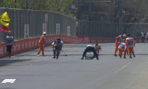 First free practice in Baku abandoned after manhole drama!