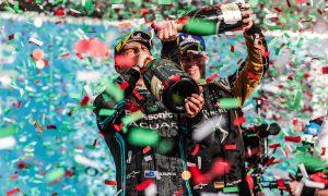 Rome E-Prix: Evans fends off Lotterer for maiden Jaguar win