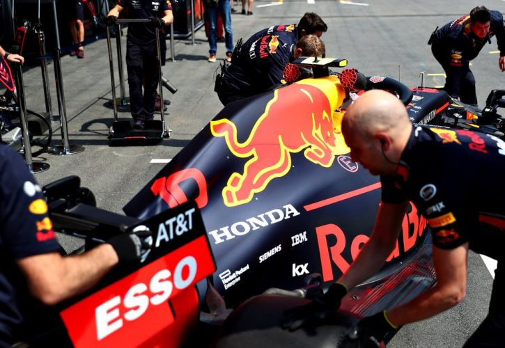 Gasly to start from pitlane after weighbridge infrigement