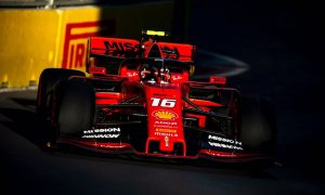 Ferrari and Leclerc remain on top in final practice in Baku