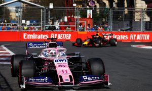 Perez delivers points again in Baku after 'demanding but fantastic' day