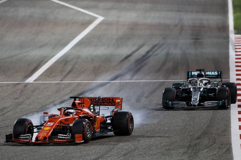 Verstappen threatens Vettel: I'll screw up Ferrari's qualifying from now on