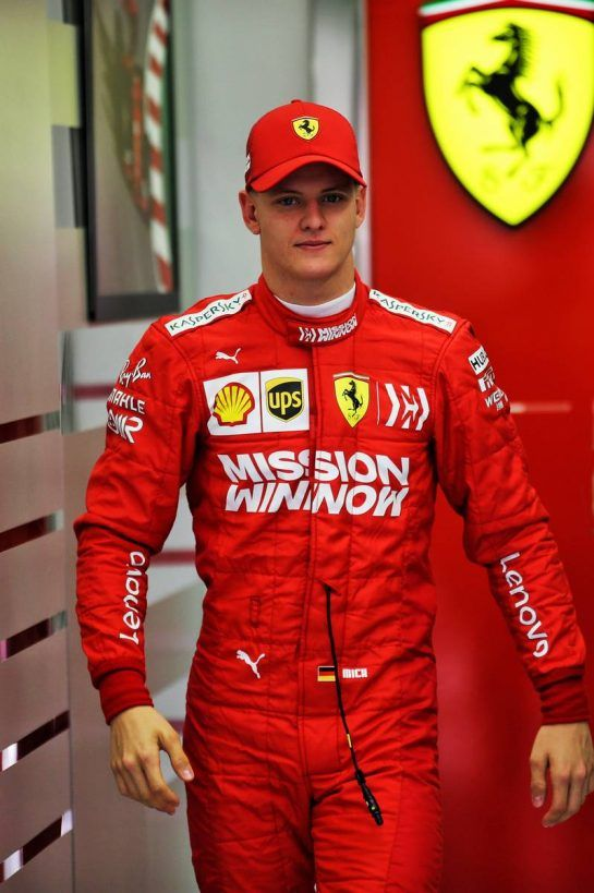 Mick Schumacher (GER) Ferrari Test Driver. 02.04.2019. Formula One Testing, Sakhir, Bahrain, Tueday. - www.xpbimages.com, EMail: requests@xpbimages.com - copy of publication required for printed pictures. Every used picture is fee-liable. © Copyright: Batchelor / XPB Images