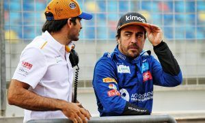 Sainz: 'Very good time' for Alonso to return to F1