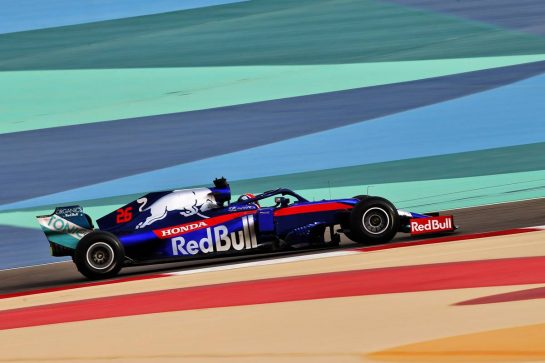Daniil Kvyat (RUS) Scuderia Toro Rosso STR14. 03.04.2019. Formula One Testing, Sakhir, Bahrain, Wednesday. - www.xpbimages.com, EMail: requests@xpbimages.com - copy of publication required for printed pictures. Every used picture is fee-liable. © Copyright: Batchelor / XPB Images