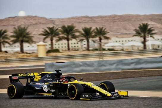 Jack Aitken (GBR) / (KOR) Renault F1 Team RS19 Test Driver. 03.04.2019. Formula One Testing, Sakhir, Bahrain, Wednesday. - www.xpbimages.com, EMail: requests@xpbimages.com - copy of publication required for printed pictures. Every used picture is fee-liable. © Copyright: Batchelor / XPB Images