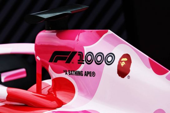 F1 1000th Grand Prix atmosphere. 11.04.2019. Formula 1 World Championship, Rd 3, Chinese Grand Prix, Shanghai, China, Preparation Day. - www.xpbimages.com, EMail: requests@xpbimages.com - copy of publication required for printed pictures. Every used picture is fee-liable. © Copyright: Moy / XPB Images
