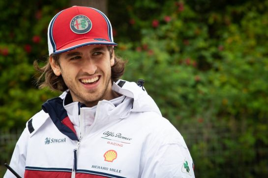 Antonio Giovinazzi (ITA) Alfa Romeo Racing. 11.04.2019. Formula 1 World Championship, Rd 3, Chinese Grand Prix, Shanghai, China, Preparation Day.  - www.xpbimages.com, EMail: requests@xpbimages.com - copy of publication required for printed pictures. Every used picture is fee-liable. © Copyright: Bearne / XPB Images