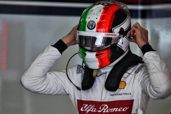 Antonio Giovinazzi (ITA) Alfa Romeo Racing. 12.04.2019. Formula 1 World Championship, Rd 3, Chinese Grand Prix, Shanghai, China, Practice Day. - www.xpbimages.com, EMail: requests@xpbimages.com - copy of publication required for printed pictures. Every used picture is fee-liable. © Copyright: Batchelor / XPB Images