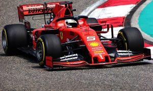 Vettel edges Hamilton in opening practice session in Shanghai