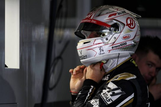 Romain Grosjean (FRA) Haas F1 Team. 12.04.2019. Formula 1 World Championship, Rd 3, Chinese Grand Prix, Shanghai, China, Practice Day. - www.xpbimages.com, EMail: requests@xpbimages.com - copy of publication required for printed pictures. Every used picture is fee-liable. © Copyright: Batchelor / XPB Images