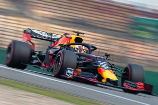 Max Verstappen (NLD) Red Bull Racing RB15. 12.04.2019. Formula 1 World Championship, Rd 3, Chinese Grand Prix, Shanghai, China, Practice Day.  - www.xpbimages.com, EMail: requests@xpbimages.com - copy of publication required for printed pictures. Every used picture is fee-liable. © Copyright: Bearne / XPB Images