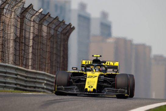 Nico Hulkenberg (GER) Renault F1 Team RS19. 12.04.2019. Formula 1 World Championship, Rd 3, Chinese Grand Prix, Shanghai, China, Practice Day.  - www.xpbimages.com, EMail: requests@xpbimages.com - copy of publication required for printed pictures. Every used picture is fee-liable. © Copyright: Bearne / XPB Images