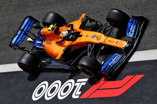Lando Norris (GBR) McLaren MCL34. 13.04.2019. Formula 1 World Championship, Rd 3, Chinese Grand Prix, Shanghai, China, Qualifying Day.  - www.xpbimages.com, EMail: requests@xpbimages.com - copy of publication required for printed pictures. Every used picture is fee-liable. © Copyright: Bearne / XPB Images