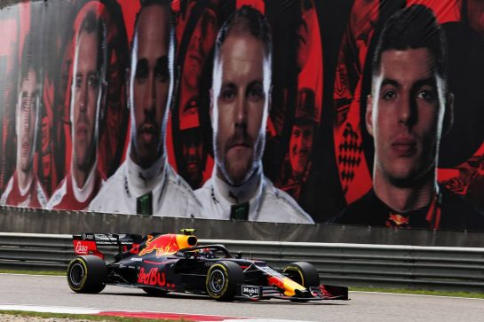 Pierre Gasly (FRA) Red Bull Racing RB15. 13.04.2019. Formula 1 World Championship, Rd 3, Chinese Grand Prix, Shanghai, China, Qualifying Day. - www.xpbimages.com, EMail: requests@xpbimages.com - copy of publication required for printed pictures. Every used picture is fee-liable. © Copyright: Moy / XPB Images