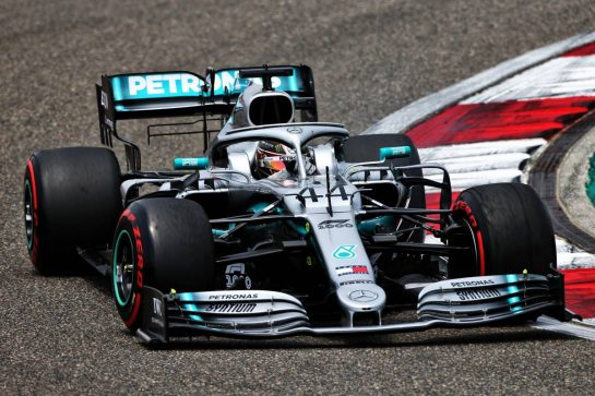 Lewis Hamilton (GBR) Mercedes AMG F1 W10. 13.04.2019. Formula 1 World Championship, Rd 3, Chinese Grand Prix, Shanghai, China, Qualifying Day. - www.xpbimages.com, EMail: requests@xpbimages.com - copy of publication required for printed pictures. Every used picture is fee-liable. © Copyright: Moy / XPB Images