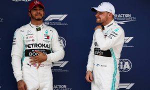 Bottas beats Hamilton to Race 1000 pole in Shanghai