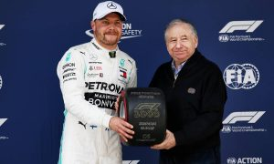 Bottas happy with 'super close' battle for pole with Hamilton
