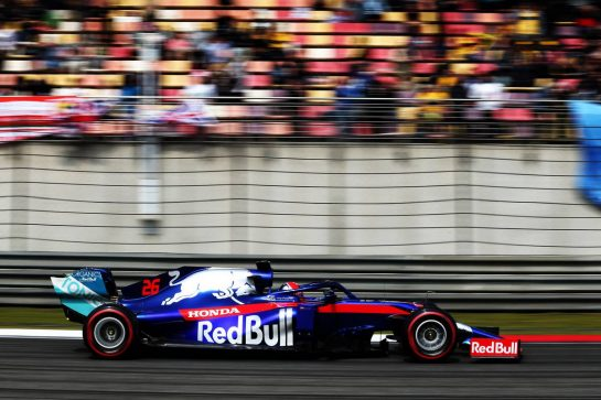 Daniil Kvyat (RUS) Scuderia Toro Rosso STR14. 13.04.2019. Formula 1 World Championship, Rd 3, Chinese Grand Prix, Shanghai, China, Qualifying Day. - www.xpbimages.com, EMail: requests@xpbimages.com - copy of publication required for printed pictures. Every used picture is fee-liable. © Copyright: Moy / XPB Images
