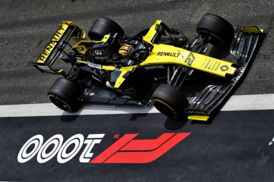 Nico Hulkenberg (GER) Renault F1 Team RS19. 13.04.2019. Formula 1 World Championship, Rd 3, Chinese Grand Prix, Shanghai, China, Qualifying Day.  - www.xpbimages.com, EMail: requests@xpbimages.com - copy of publication required for printed pictures. Every used picture is fee-liable. © Copyright: Bearne / XPB Images