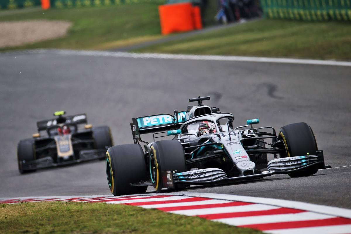 Lewis Hamilton (GBR) Mercedes AMG F1 W10. 14.04.2019.