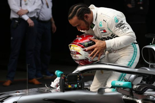 1st place Lewis Hamilton (GBR) Mercedes AMG F1 W10.14.04.2019. Formula 1 World Championship, Rd 3, Chinese Grand Prix, Shanghai, China, Race Day.- www.xpbimages.com, EMail: requests@xpbimages.com - copy of publication required for printed pictures. Every used picture is fee-liable. © Copyright: Batchelor / XPB Images