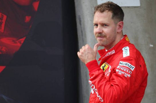 Sebastian Vettel (GER) Ferrari SF90.14.04.2019. Formula 1 World Championship, Rd 3, Chinese Grand Prix, Shanghai, China, Race Day.- www.xpbimages.com, EMail: requests@xpbimages.com - copy of publication required for printed pictures. Every used picture is fee-liable. © Copyright: Batchelor / XPB Images